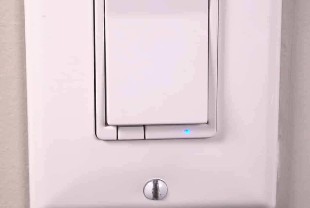 GE Smart Switch Blue Light Blinking