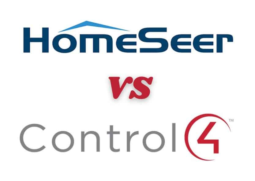 Homeseer Vs Control4