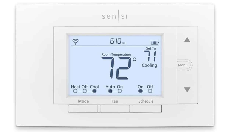 Sensi Thermostat Already Registered