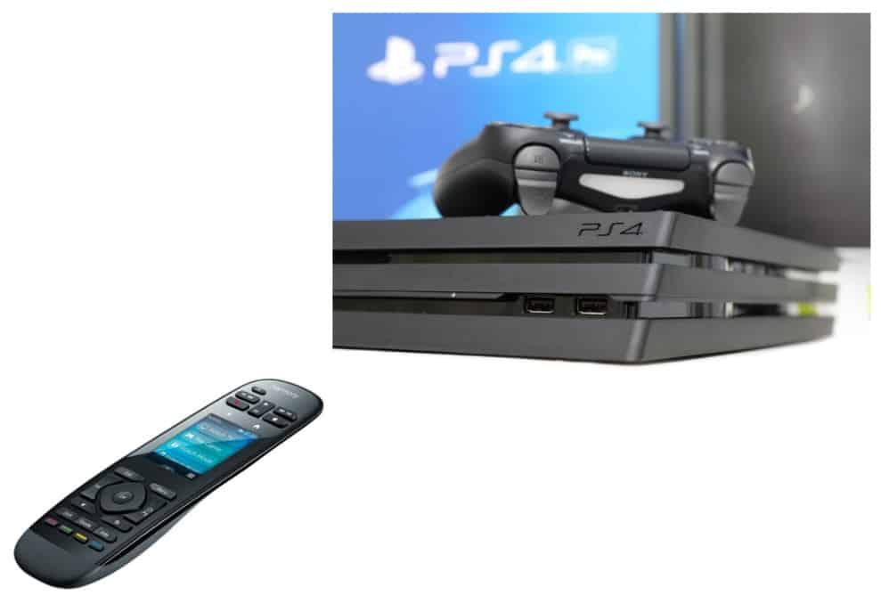 Harmony Hub Turn On PS4