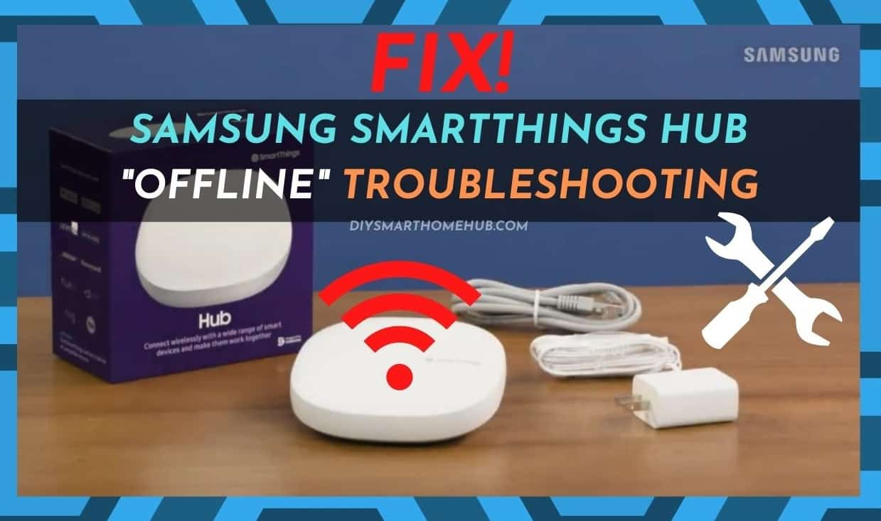 SmartThings Hub Offline Troubleshooting
