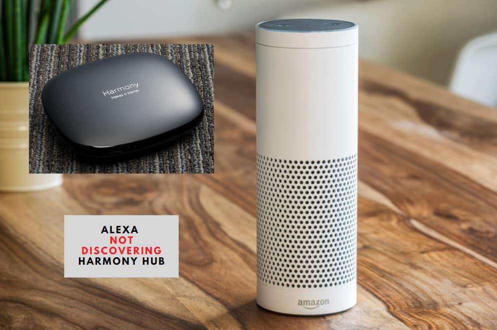 Alexa Not Discovering Harmony Hub