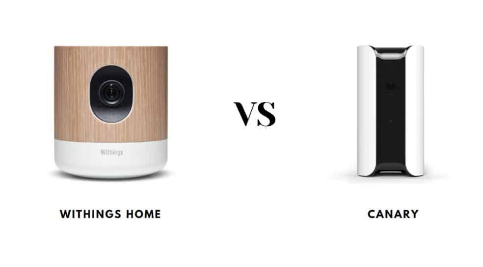 Withings Home Vs Canary
