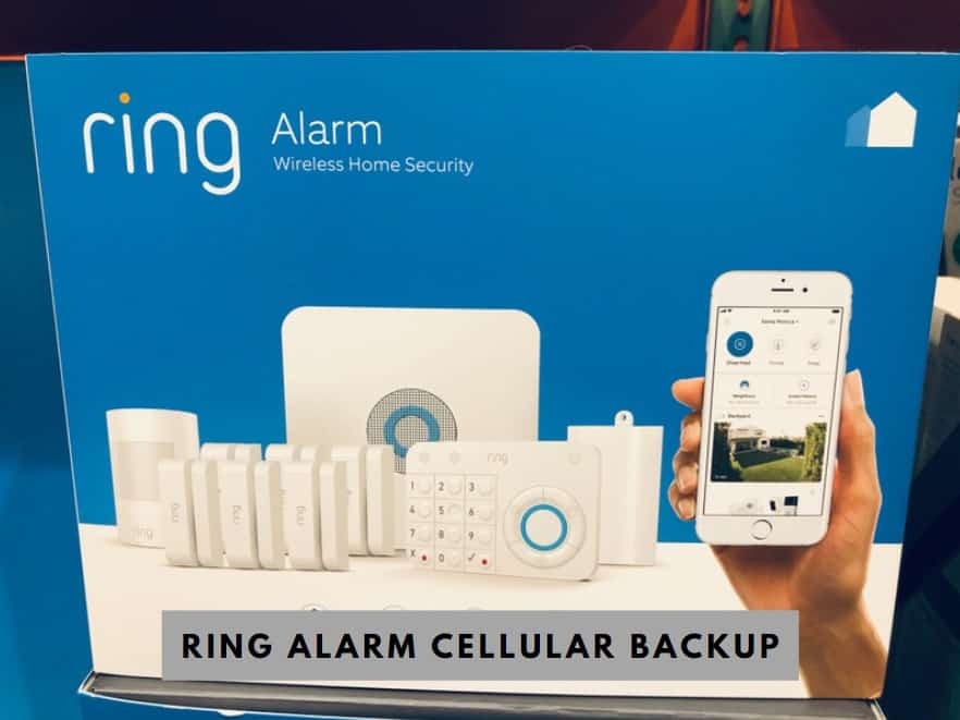 Ring Alarm Cellular Backup