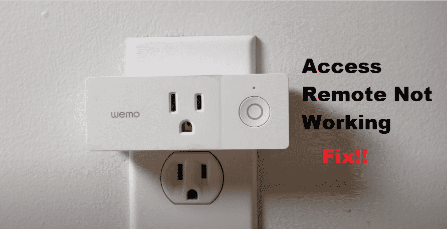 WeMo Access Remote Not Working