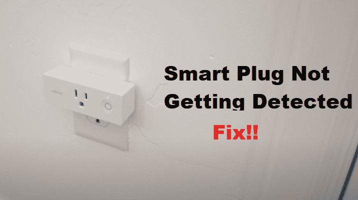 Wemo Smart Plug Not Detected