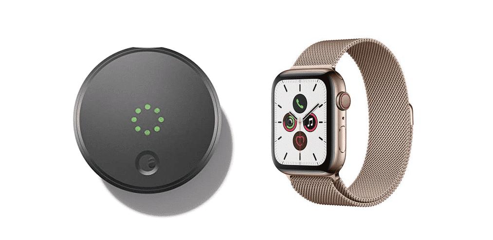 august smart lock apple watch not working