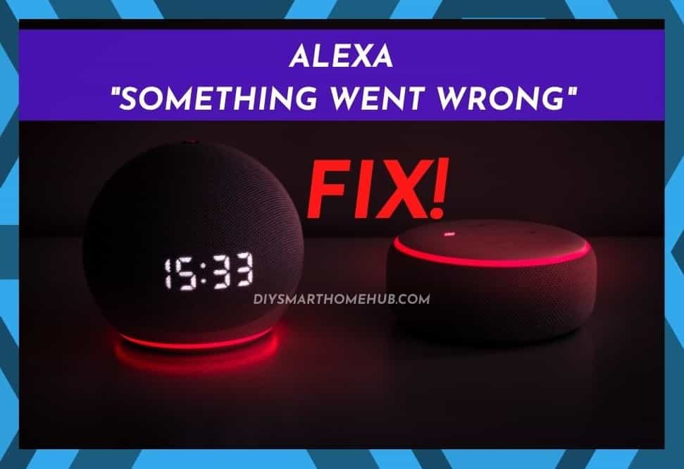 Alexa Something Went Wrong