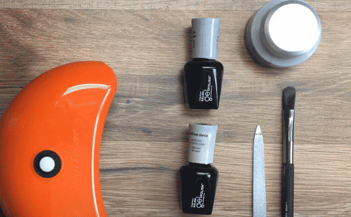 can you use sally hansen miracle gel with led light