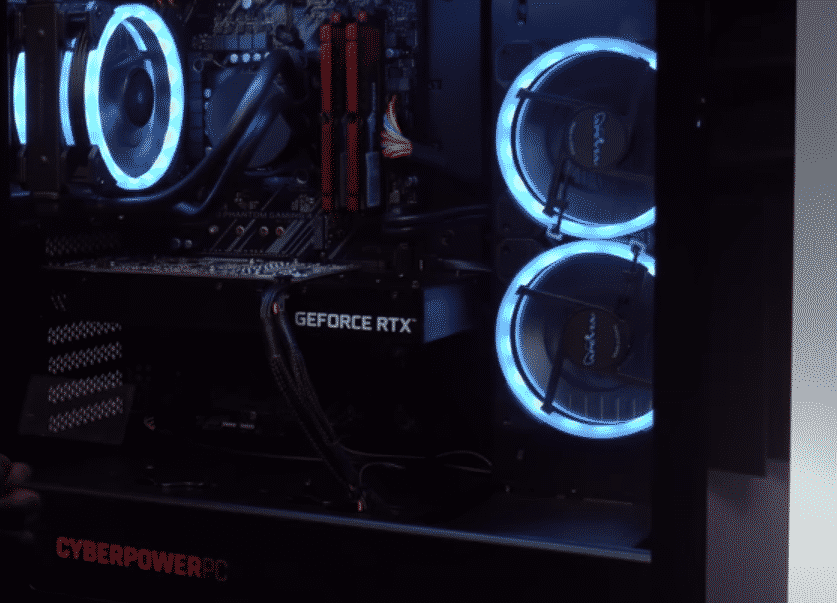 how to change led light color on cyberpowerpc