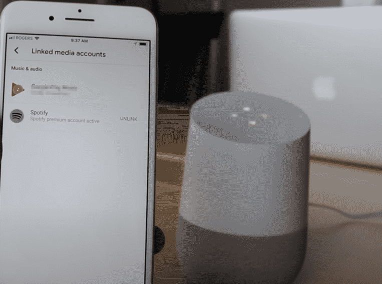 google home multiple spotify accounts