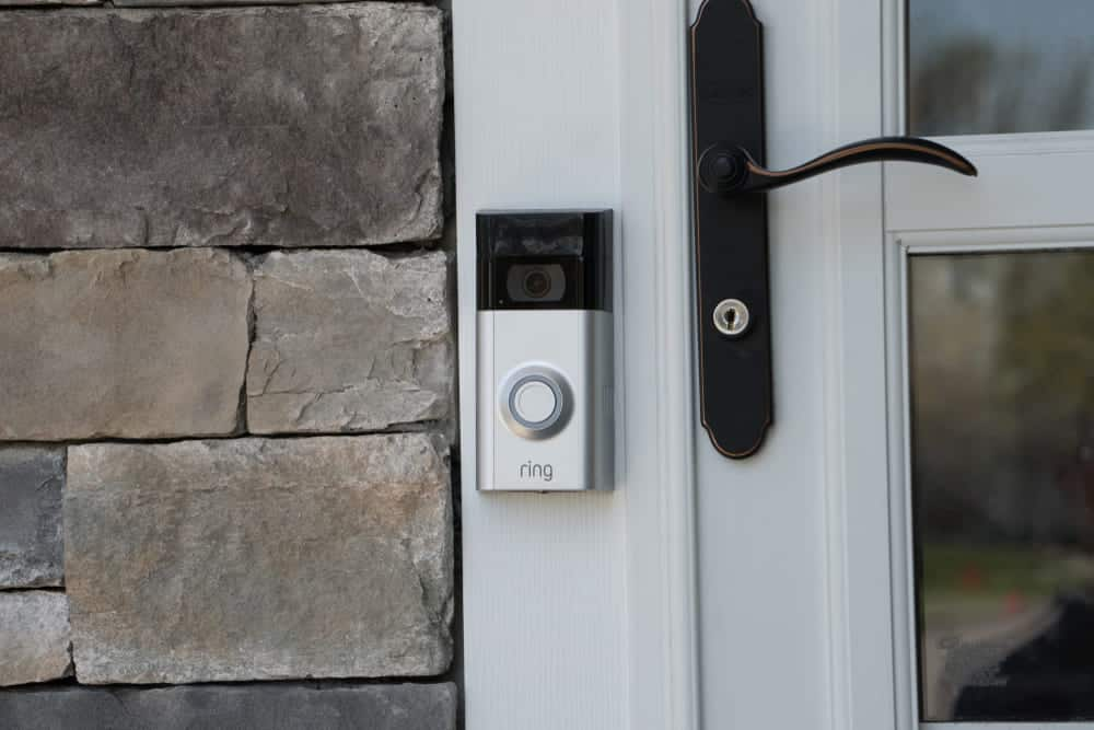 ring doorbell is hardwired but shows battery